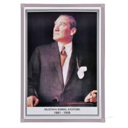 Vivekka 35X50 Alüminyum Çerçeve Atatürk Posteri