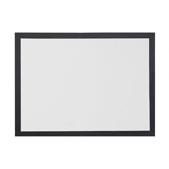 Vivekka 90X120 Mdf Çerçeve Laminat Beyaz Yazı Tahtası