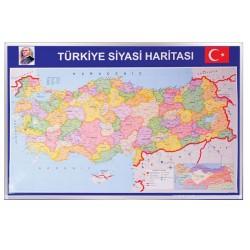 Vivekka 70X100 Alüminyum Çerçeve Türkiye Siyasi