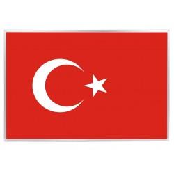 20X30 Alüminyum Çerçeve Bayrak - Türk Bayrağı