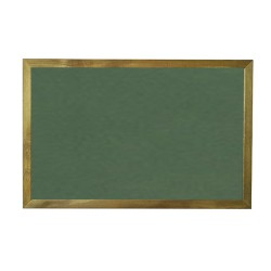 Vivekka 30X45 Duvara Monte Ahşap Çerçeve Laminat Yeşil Yazı Tahtası