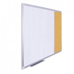 Vivekka 60x90 Kombine Laminat Beyaz Yazı Tahtası